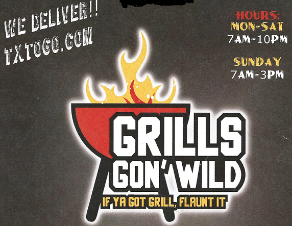 Great Food at Grills Gon Wild