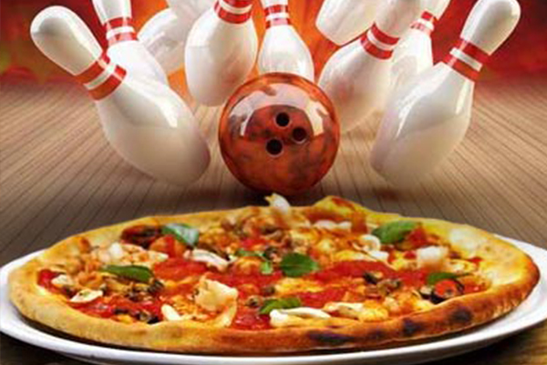 Pizza and Bowling at Western Bowl