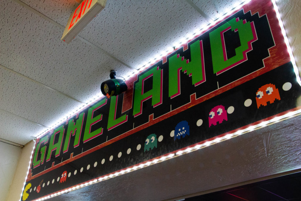 The Signage to Gameland, Western Bowl, Amarillo, Texas