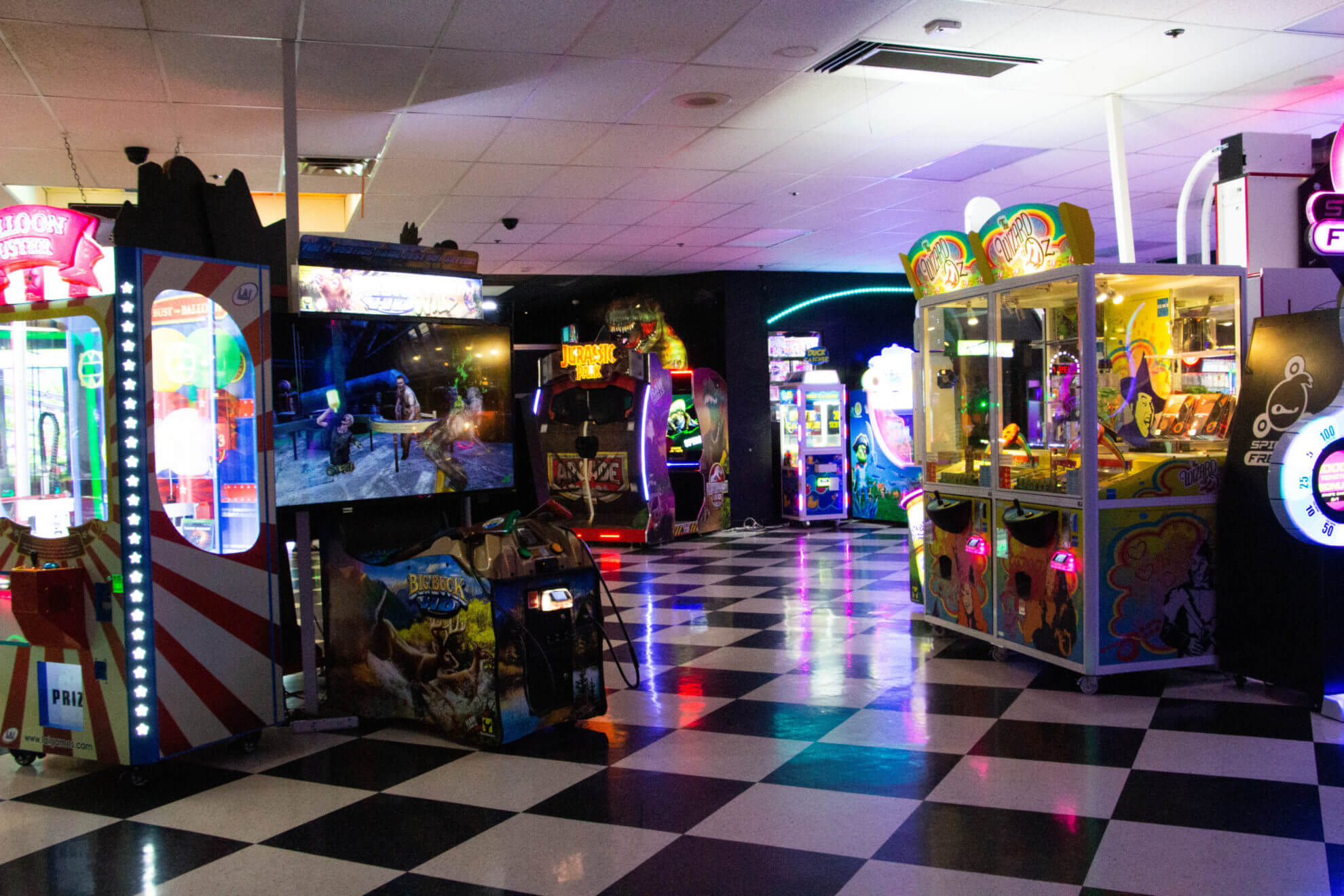Gameland at Western Bowl, Amarillo, Texas